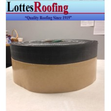 """6"""" x 100' Perimeter Reinforced EPDM w/Adhesive Rubber Black Tapes"""
