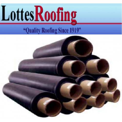 10/' x 90/' BLACK EPDM 45 mil RUBBER  ROOF ROOFING