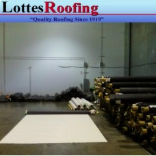 20' x 23' 60 MIL WHITE EPDM RUBBER ROOFING