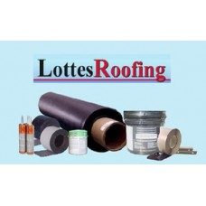 Rubber Roof: Complete Installation Kit - 500 sq.ft.- 45 Mil Black EPDM.  •FREE DELIVERY IN 48 STATES